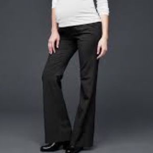 Gap Maternity Full Panel Modern Boot Pants Size 6